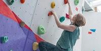Занятие с инструктором для 1,2 или 4 человек по индивидуальной программе с различными уровнями сложности на скалодроме «Волна». <b>Скидкадо55%</b>