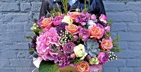 Новогодние композиции, букеты роз, хризантемы вкорзинах и другие цветы в компании Mary J Mall. <b>Скидкадо62%</b>