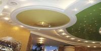 Изготовление имонтаж бесшовного натяжного потолка любого цвета ифактуры площадью до20кв. мвкомпании «Ваш стиль». <b>Скидка до66%</b>
