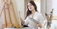 Тренинг порисованию втехнике эбру, маслом или поправополушарному рисованию в«Школе креатива». <b>Скидкадо53%</b>