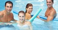 Абонемент назанятия аквааэробикой или фитнесом или посещение бассейна встудии фитнеса VictoryFit. <b>Скидкадо70%</b>