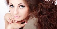 Наращивание ресниц и биотатуаж бровей хной в салоне красоты Lana Art. <b>Скидкадо73%</b>