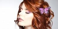 Наращивание3D, коррекция, окрашивание бровей иресниц встудии красоты «Шок». <b>Скидкадо82%</b>