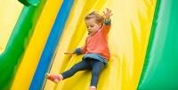 Посещение детского батутного центра «Экшн Парк» вбудние иливыходные дни. <b>Скидкадо54%</b>