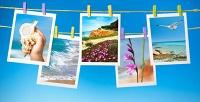 Печать фотографий разного формата или изготовление фотосувенира навыбор втипографии «Смайл». <b>Скидкадо66%</b>