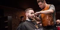 Мужская стрижка, коррекция бороды, детская стрижка идругие услуги вOldBoy BarberShop. <strong>Скидка50%</strong>