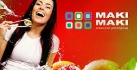 Всё меню кухни всети ресторанов Maki Maki. <b>Скидка50%</b>