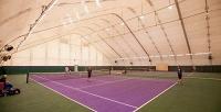 1или 2часа игры вбольшой теннис накрытом корте вклубе Tennis School One. <b>Скидкадо61%</b>