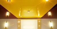 Бесшовные натяжные потолки любого цвета ифактуры площадью до50кв. мкомпании «Три-Арт». <b>Скидкадо74%</b>