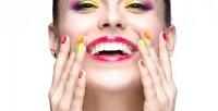 Маникюр ипедикюр состойким покрытием лаком или гель-лаком всалоне красоты «Гюстин». <b>Скидкадо67%</b>