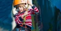 Веревочный парк искалодром для детей вразвлекательном комплексе «Рина». <b>Скидкадо63%</b>