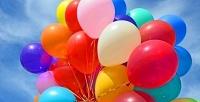 Связки гелиевых шаров, праздничные фигуры изшаров или гирлянды встудии праздника «Конфетти». <b>Скидка50%</b>