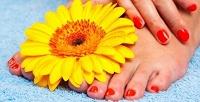 Маникюр ипедикюр, наращивание иукрепление ногтей гелем всалоне красоты «Смузи». <b>Скидкадо77%</b>