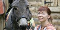 Посещение крытого конного клуба «Рога иКопыта». <b>Скидкадо57%</b>