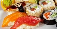 Всё меню безограничения суммы чека вслужбе доставки «XL-суши». <b>Скидка50%</b>
