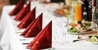 Банкет для компании до15человек вкафе-ресторане «Гурман +». <b>Скидкадо52%</b>