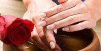 Спа для рук или ног, маникюр и педикюр с покрытием гель-лаком в студии «Окей». <b>Скидкадо77%</b>