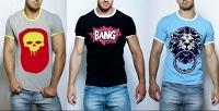 1, 3или 5мужских или женских футболок Epatage. <b>Скидка54%</b>