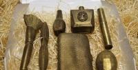 Набор шоколадных инструментов внатуральную величину вкондитерской «Утетушки Марты». <b>Скидкадо53%</b>