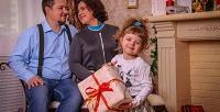 Студийная фотосессия для одного, двоих или семьи из3человек с«Семейной фотостудией». <b>Скидкадо71%</b>