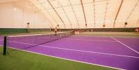 Большой теннис накрытом корте синструктажем втеннисном клубе Tennis School One. <b>Скидка до61%</b>
