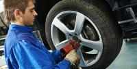 Шиномонтаж 4колес для легковых автомобилей вмастерской «Formula шин». <b>Скидкадо74%</b>
