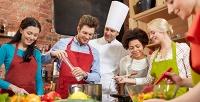 Мастер-класс поприготовлению блюд французской кухни вRocky Pizza. <b>Скидкадо74%</b>