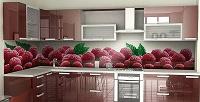 Изготовление стеклянного кухонного фартука иззакаленного стекла вкомпании «Блеск». <b>Скидкадо53%</b>
