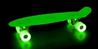 Скейт мини-круизер Shark22″ сподсветкой. <b>Скидка50%</b>