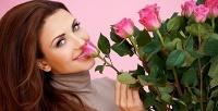 Букеты изсвежесрезанныых цветов или связка гелиевых шаров всалоне «Лаванда». <b>Скидка50%</b>