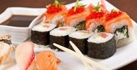 Все суши, роллы ипицца всуши-баре Sushi Room. <b>Скидка55%</b>