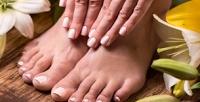 <b>Скидка до 52%.</b> Маникюр ипедикюр спокрытием ногтей гель-лаком всалоне красоты «Fix ногти»