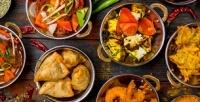 Блюда инапитки вресторане индийской кухни Bombay соскидкой50%