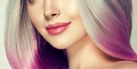 <b>Скидка до 70%.</b> Стрижка, укладка, выпрямление утюжком, окрашивание имелирование волос навыбор в «Доме красоты»