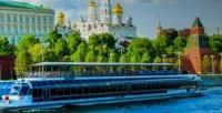 <b>Скидка до 52%.</b> Прогулка поМоскве-реке собедом, ужином или без питания наэксклюзивном теплоходе River Palace