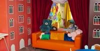 <b>Скидка до 68%.</b> Проведение детского праздника сразвлекательной анимационной программой иугощением или без всети детских игровых центров «Карамелька» и«Удивика»
