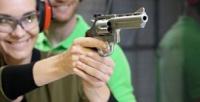 <b>Скидка до 66%.</b> Стрельба изразных видов оружия для 1, 2или 4человек всети стрелковых комплексов Shooter