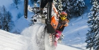 <b>Скидка до 66%.</b> Катание напрогулочных снегоходах помаршруту отклуба Kvadro-Extrim