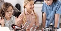 <b>Скидка до 57%.</b> Посещение занятий поробототехнике или английскому языку для детей встудии «Роботвилль»