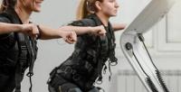 <b>Скидка до 53%.</b> До8занятий фитнесом наEMS-тренажере встудии «Fit &Соль»