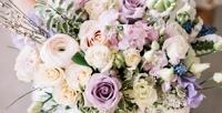 <b>Скидка до 82%.</b> Букет изголландских или эквадорских роз, ирисов, тайских орхидей, хризантем, альстромерий или голландских тюльпанов