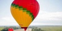 <b>Скидка до 55%.</b> Полет навоздушном шаре странсфером изМосквы иобратно, игристым напитком, конфетами иобрядом посвящения ввоздухоплаватели отклуба «Аэронавтика»
