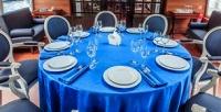 <b>Скидка до 63%.</b> Прогулка синтерактивной экскурсией поМоскве-реке, обедом или ужином посистеме All Inclusive, аренда бронированной VIP-каюты спанорамным обзором для компании до10человек натеплоходе класса люкс Notte Bianca