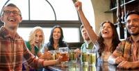 <b>Скидка до 50%.</b> Паровой коктейль снапитками иугощением или без вхоум-баре «Кёльш»