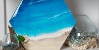 <b>Скидка до 64%.</b> Мастер-классы поправополушарному рисованию, рисованию алкогольными чернилами, Fluid Art, Resin Art «Срез камня» отарт-пространства «Цветной»