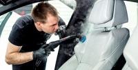 <b>Скидка до 85%.</b> Комплексная химчистка салона автомобиля, абразивная полировка кузова судалением царапин инанесением защитного покрытия отавтомойки «Экомойка»