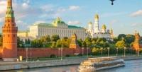 <b>Скидка до 50%.</b> Прогулка поМоскве-реке сланчем или без натеплоходе отсудоходной компании «Мосфлот»