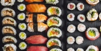 Доставка японского сета, горячих, холодных роллов ипиццы отслужбы доставки «Вкуснотека»