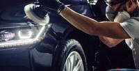 <b>Скидка до 83%.</b> Химчистка автомобиля или абразивная полировка кузова судалением царапин инанесением защитного покрытия отдетейлинг-центра Phantom