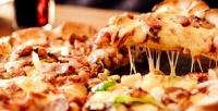 Пицца диаметром 30сантиметров отслужбы доставки Self Pizza соскидкой50%